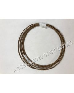 Brown Heat Resistant Cable 1.5mm