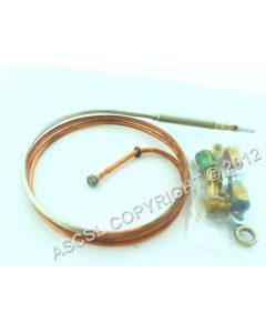 900mm Nickel-Plated Thermocouple
