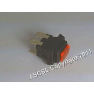 Orange switch 12amp 250v  - Lamber Newscan DSP2 Dishwasher  (on/off)