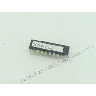 PCB Eprom Chip - Elettrobar River81 Dishwasher