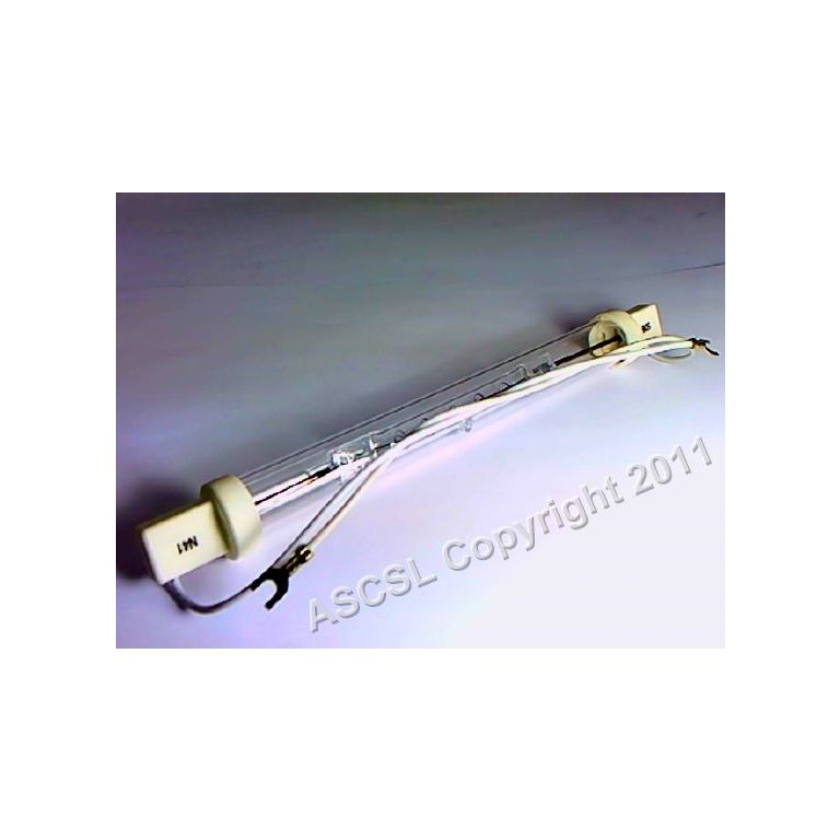 Quartz Gantry Lamp - 200W IR JKT With Leads