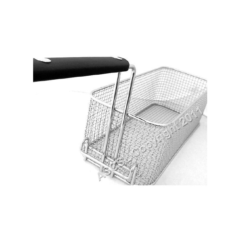 Chrome Plated Steel Basket 370x150x120mm Angelo Po Fryer