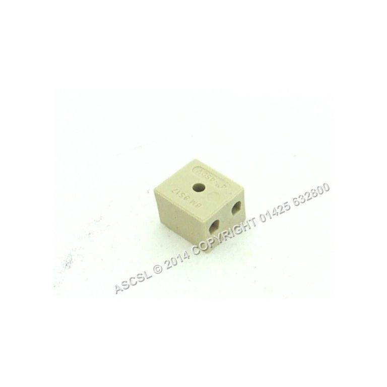 Porcelain 2 way Connector 15amp