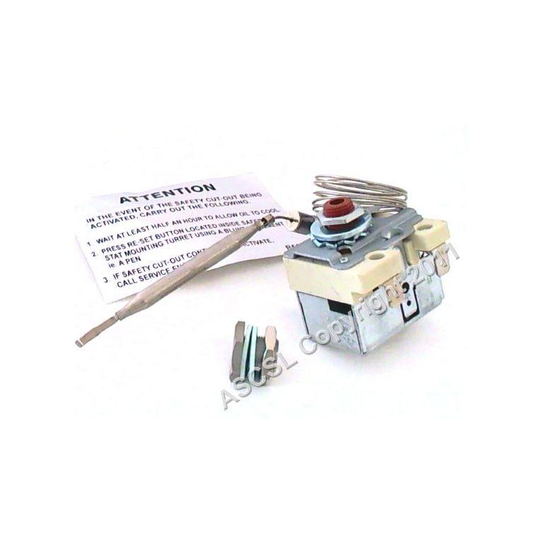 High Limit Thermostat 234C 1050G 96/6 1-pole 1NC 16A probe ø 6mm probe L 98mm