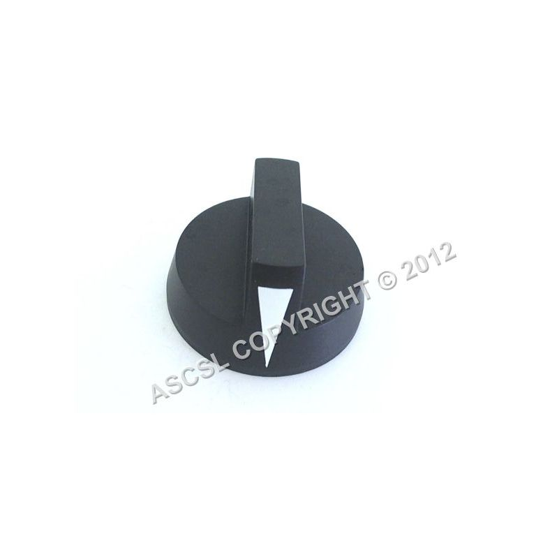 Control knob - Southbend X436D Oven # Black knob with white arrow