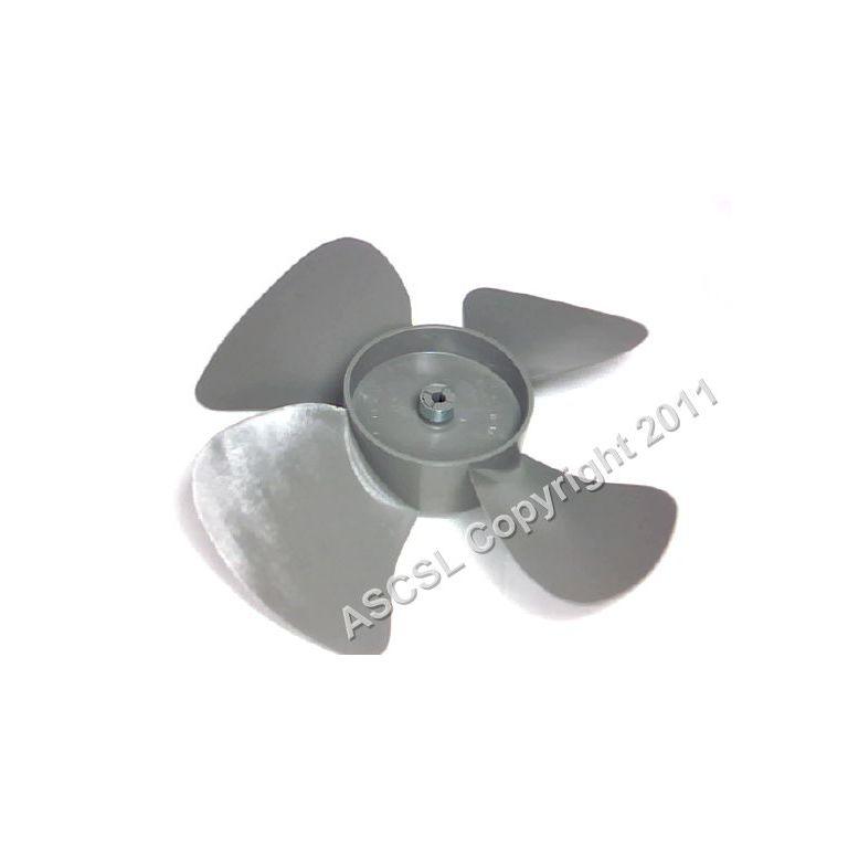 Fan blade - Beverage Air MT35 fridge (black plastic)