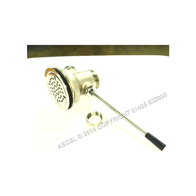 """3 1/2"""" Inch Lever Waste without Overflow Connection - Standard Keil"""