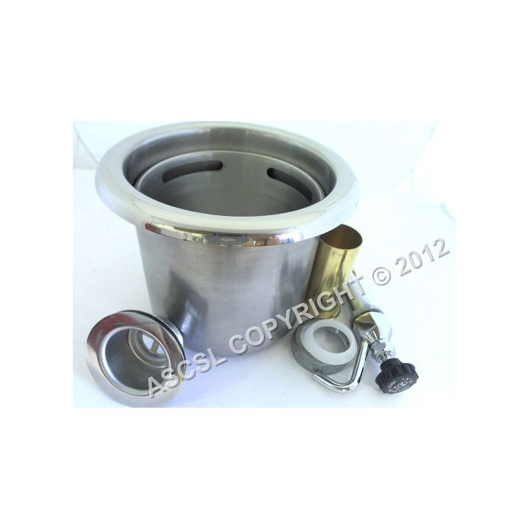 Dipper Well With Faucet Cecilware CECW5