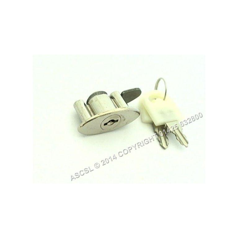 Lock & Key - Blizzard GD350 Fridge