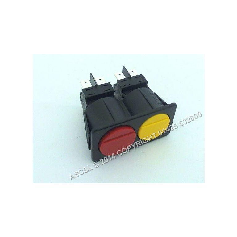 Boiler on/off Switch (bank of 2) - Krupps 800DB Dishwasher