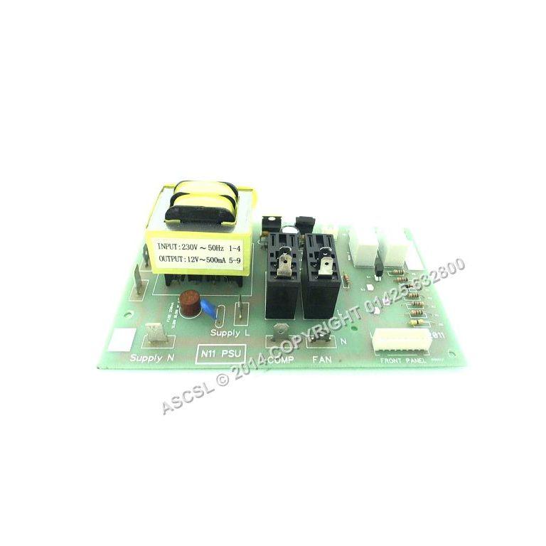 Rear Power Board - Labcold RLDF0510 RLDG0210A Fridge