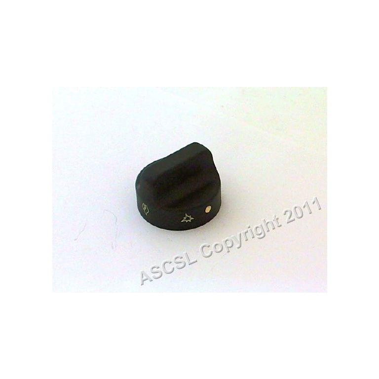 Black Oven Control Knob - Moorwood Vulcan  *only 18 at this price*